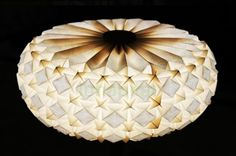 Cool folded lamps from Aqua Creations!
