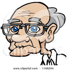 Royalty Free Old Man Illustrations by Cartoon Solutions Page 1