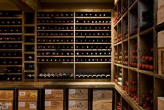 Another pic of the same functional, rustic wine cellar