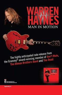 Warren Haynes Band promo poster