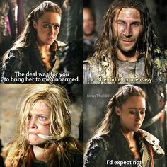 """#The100 3x02 """"Wanheda: Part Two"""""""