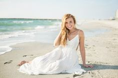 Graduation pictures taken in Clearwater, Florida for high school senior from Ohio