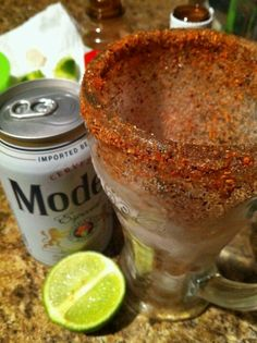 Michelada...ahh I want one ..like RIGHT NOW!