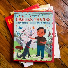 Another great bilingual (English/Spanish) children's book! (We seriously love Pat Mora) And another of our favorite illustrators, John Parra (We now look for as many kids books as we can find with his art! <3)