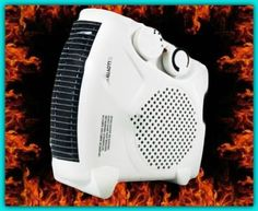 Fan Space Heater Industrial Room 2 Settings Cool Blow Upright Flatbed Corded NEW