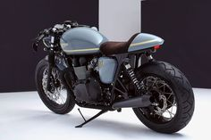 Triumph Bonneville Cafe Racer by Bunker Custom