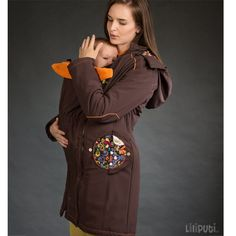 Liliputi® Babywearing Mama Coat Folk-tale