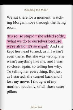 Keeping the Moon-Sarah Dessen