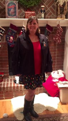 SparkleSkirts work great for adventures beyond running too! Here Andrea F. shows off FaLaLa for a Christmas concert!  Get this look: Andrea F in FaLaLa for Christmas concert