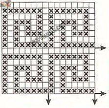 crochet devices with greek design, crochet patterns like the pattern based on the greek ornament (greek meander). Crochet Borders, Crochet Diagram, Crochet Motif, Crochet Designs, Crochet Lace, Crochet Stitches, Gilet Crochet, Crochet Shirt, Tapestry Crochet Patterns