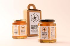 The dieline - Honey Concept