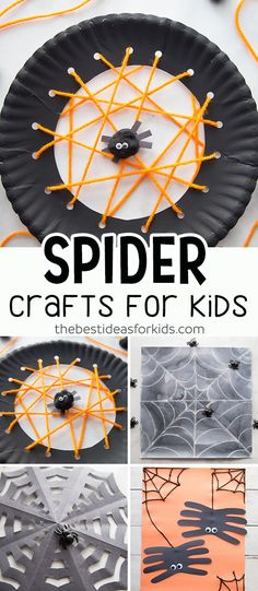 Spider Crafts for Ki