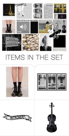 """""""Music is life. That's why our hearts have beats."""" by sabreerae ❤ liked on Polyvore featuring art"""