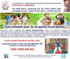 http://www.podarujusmiech.org/pl/podopieczni/387-joanna-maciejewska-potrzebuje-wsparcia-w-utrzymaniu-sprawnoci-osignitej-dziki-systematycznej-rehabilitacji.html