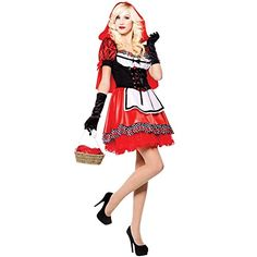 Damen Rotkäppchen Kostüm ab 15€ | Kostüm-Idee für Karneval, Halloween  & Fasching