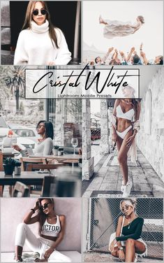 lightroom Mobile Presets Cristal White / 4 presets / Lightroom Presets / Blogger Travel Lifestyle Instagram Photography For Beginners, Photography Editing, Vsco Presets, Lightroom Presets, Photo Retouching, Photo Editing, Blog Images, Creative Photos, The Incredibles