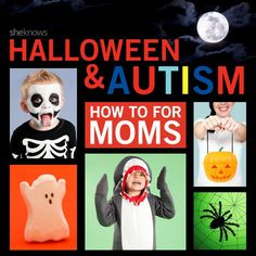 """How to have a """"sensory smart"""" Halloween for kids on the autism spectrum."""