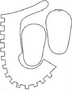 Cómo hacer zapatitos de niña para Babyshower | Manualidades