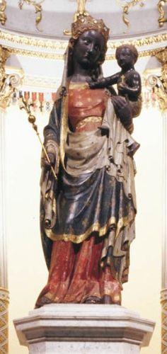 Vierge noire, Neuilly-sur-Seine