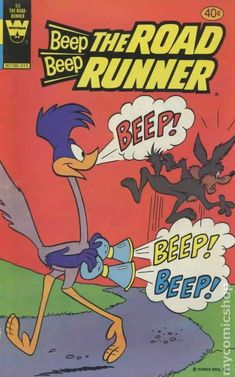 Beep Beep The Road Runner (1971 Whitman) 93