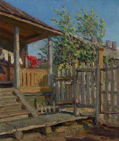 The Athenaeum - The Porch (Sergei Arsenevich Vinogradov - ) ~Via Mickey Smith