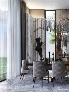 Beautiful Interiors, Home Decor Bedroom, Modern Interior Design, Home Furniture, Innovation, Interior Decorating, Dining Room, Design Inspiration, Architecture