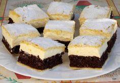 A világ legfinomabb túrós sütije, mire megiszod a kávéd, meg is sül! Hungarian Desserts, Hungarian Recipes, Sweet Desserts, Healthy Desserts, Cake Recipes, Dessert Recipes, Pan Integral, Sweet Pastries, Food Cakes