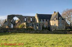 Côtes d'Armor Bretagne. France  Abbaye de beauport situe sur la commune de Paimpol dans le département des Cotes-d'Armor, en Bretagne.