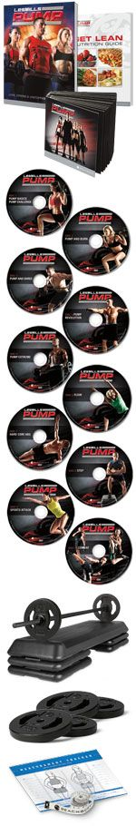 Love Les Mills Body Pump at your gym?   now you can do it at home!  Awesome right!    www.MyFitnessTime.com