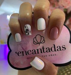 Nails Decoradas, Nail Decorations, Short Nails, Black Women, Nail Designs, Short Nail Manicure, Nail Manicure, Dark Nails, Perfect Nails