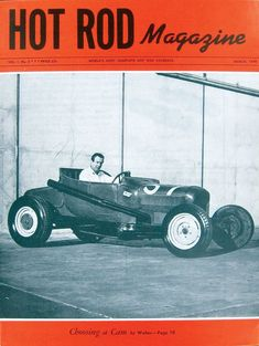 This is the third issue of HOT ROD Magazine, March 1948. See every cover at…