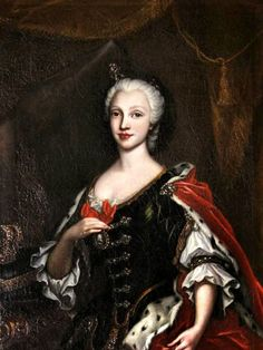 H.M. Queen Maria Amalia of Spain, née Princess of Saxony (1724-1760) - Maria Amalia of Saxony was a German princess from the House of Wettin, the daughter of Augustus III of Poland and the wife of Charles III of Spain; she was the Queen consort of Naples and Sicily from 1738 till 1759 and then Queen consort of Spain from 1759 until her death in 1760.