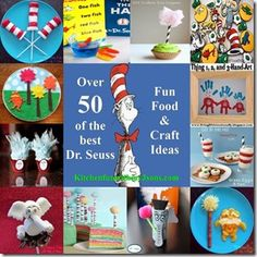 Dr Seuss Activities 50 Kitchen Fun 3 Sons