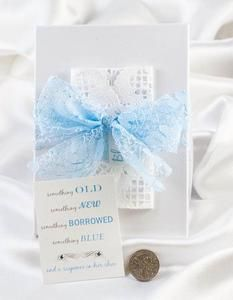 Ideas for Something Borrowed - A sixpence in your shoe