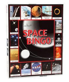Another great find on #zulily! Space Bingo Game by Lucy Hammett Games #zulilyfinds