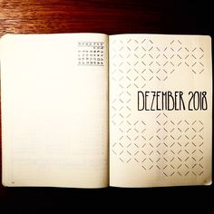 I might try this other month than december // Bullet journal monthly cover page, December cover page, geometric design. @definitelynotartbutpretty