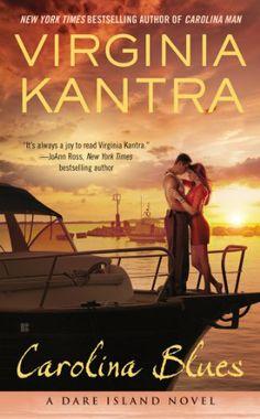 Carolina Blues by Virginia Kantra | Dare Island, BK#4 | Publisher: Tempted Romance | Publication Date: October 14, 2014 | www.virginiakantra.com | Contemporary Romance