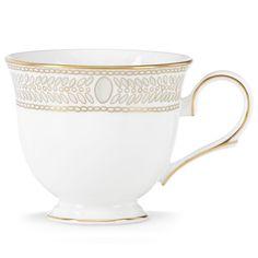 Marchesa Gilded Pearl Teacup By Lenox