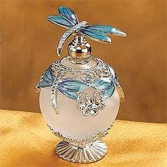 Dragonfly Jeweled Perfume Bottle