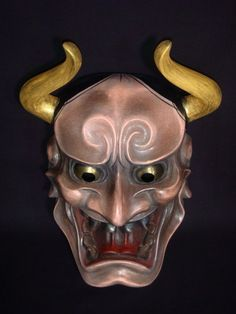 Noh | Noh Mask Magari Tsuno Hannya