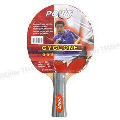 Povit Cyclone 3 Yıldız Masa Tenisi Raketi - Spin:30  Control:80  Speed:50  Okul ve kulüplerin tarafından tercih edilen kaliteli ve uzun ömürlü antrenman raketidir. - Price : TL15.00. Buy now at http://www.teleplus.com.tr/index.php/povit-cyclone-3-yildiz-masa-tenisi-raketi.html