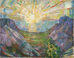 Edvard Munch – Słońce 2 – reprodukcja