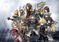 Square Enix Reveals Dissidia Final Fantasy Opera Omnia Smartphone Game - News…