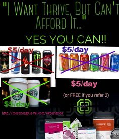 Are you ready to thrive! All day energy, weight management, appetite control, mood support and so much more. Place your order today.