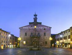 Cagli, Matteotti's square - Marche - Italy