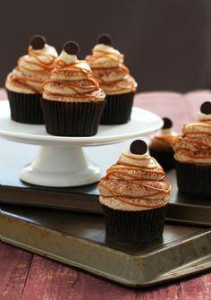 Carmel Cappucino Royale Cupcake