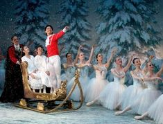 The most famous cast of holiday characters, including Clara, Fritz, the Mouse King and the Sugar Plum Fairy, reunite for Las Vegas' most cherished and beloved annual event – The Nutcracker! #dance