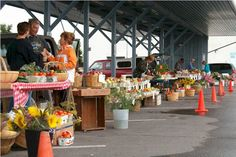 Visit Trenton Farmers Market for all your locally grown fruits & veggies. - Just about 25 minutes from Bucks! Fresh Fruits And Vegetables, Farmers Market, Maine, Bucks County, Marketing, Eat