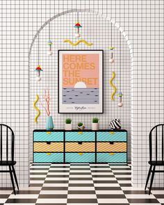 Graphic Design: a New Poster Collection Spring #archives