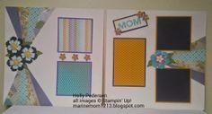MarineMom: May 2014 scrapbook pages